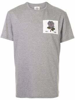 Kent & Curwen футболка с круглым вырезом и нашивкой K4100090I094