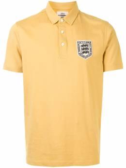 Kent & Curwen рубашка поло с нашивкой-логотипом K4100040I054