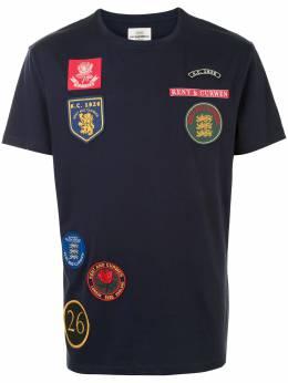 Kent & Curwen футболка с нашивками K4100294I039