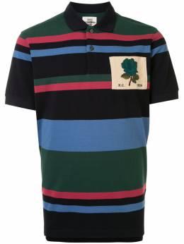 Kent & Curwen рубашка поло с нашивкой K4100061I046