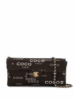Chanel Pre-Owned сумка на плечо Coco 2001-го года 6859958