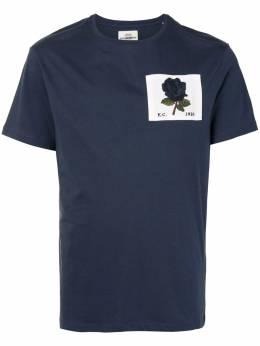 Kent & Curwen футболка с нашивкой K4100090I039
