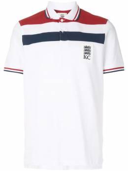 Kent & Curwen рубашка поло в стиле колор-блок K4100052I090
