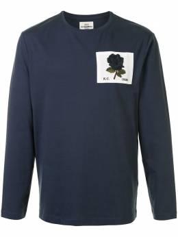 Kent & Curwen футболка с длинными рукавами и нашивкой K4100291I039