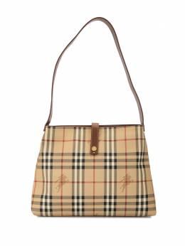Burberry Pre-Owned сумка-тоут в клетку Horseferry Check 11188507