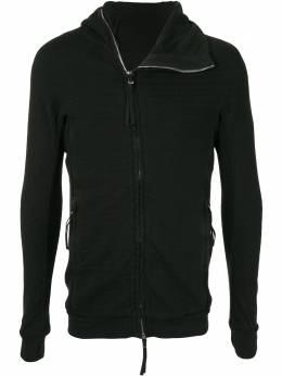 Boris Bidjan Saberi полосатая куртка с капюшоном WZIPPER2F0603M