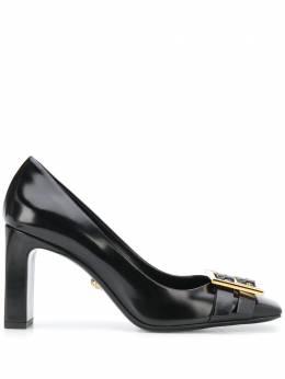Versace туфли-лодочки Greca с пряжками DST468MDVT51