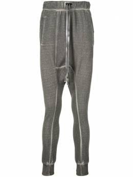 Boris Bidjan Saberi брюки Long John 2 с низким шаговым швом LONGJOHN2