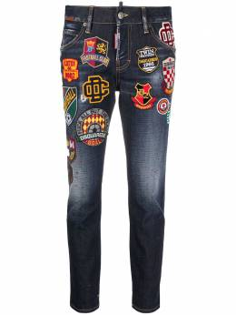 Dsquared2 джинсы кроя слим с нашивкой-логотипом S75LB0421S30664