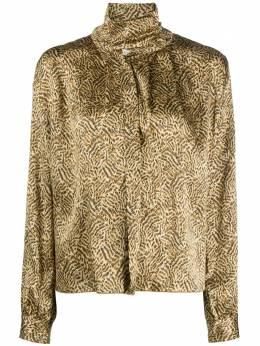 Forte_Forte расклешенная блузка с воротником-воронкой 7596MYSHIRT