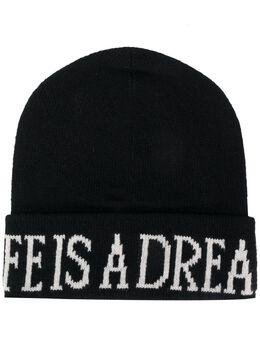 Alberta Ferretti трикотажная шапка бини Life Is A Dream 36806603
