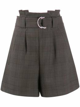 Ganni paper bag suiting shorts F4711