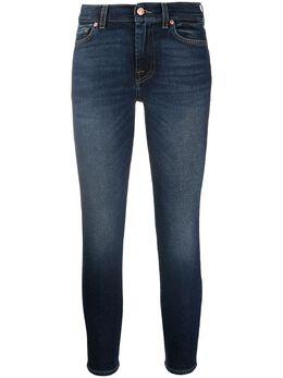 7 For All Mankind джинсы Roxanne средней посадки JSVYA910