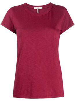 Rag&Bone round neck cotton T-shirt WCC20PT034CH34