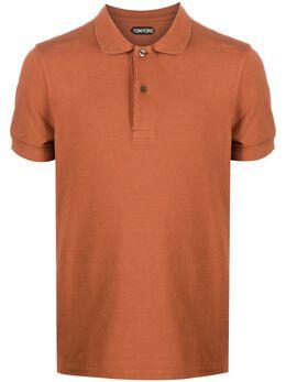 Tom Ford рубашка поло с короткими рукавами TFJ982BV266
