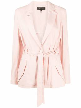 Rag&Bone tie-waisted tailored blazer WAW20P4009NH09