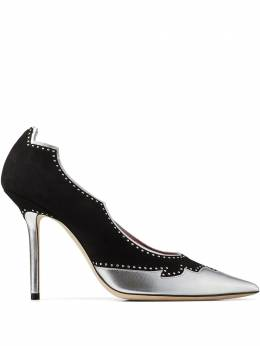 Jimmy Choo Malise metalic pumps 100mm MALISE100MQS