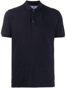 Brunello Cucinelli однотонная рубашка поло M0T638356C4425