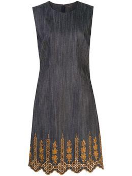Adam Lippes платье с вышивкой P20736BA