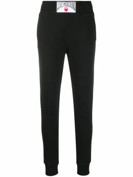 Love Moschino logo patch track trousers W154980M4055