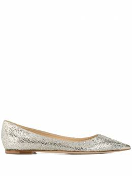 Jimmy Choo pointed ballerina shoes ALINAGFAGFA