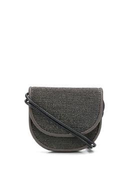 Brunello Cucinelli мини-сумка с кристаллами MBMON2135C2355