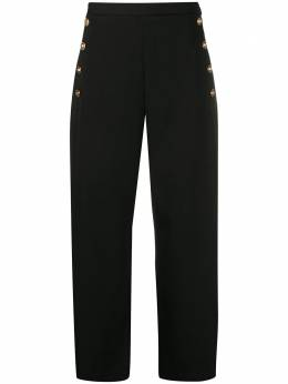 Versace cropped wide-leg trousers A85702A226027