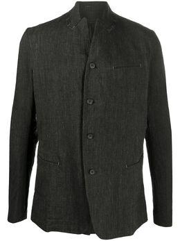 Masnada куртка-рубашка с контрастной строчкой M2400