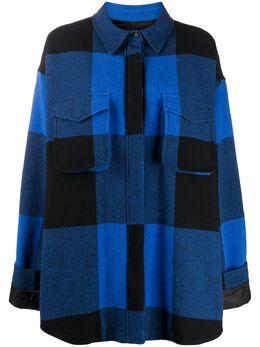 Moschino plaid jacket A02165513