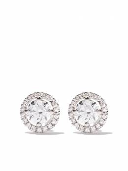 De Beers 18kt white gold My First De Beers Aura diamond stud earrings J2DD04B02W