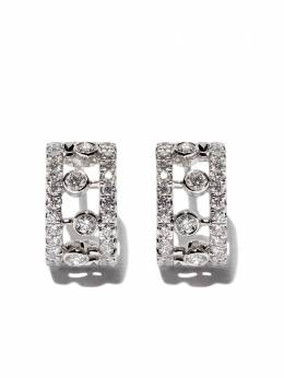 De Beers 18kt white gold Dewdrop diamond earrings J2FU05B00W