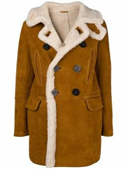 Dsquared2 double-breasted sheepskin coat S75AM0606SY1247
