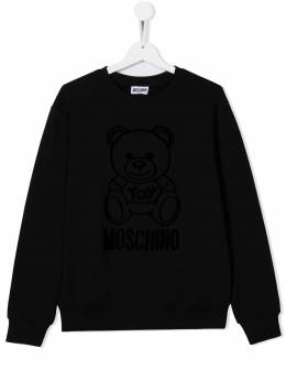 Moschino Kids толстовка Teddy Bear HMF043LDA17
