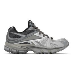 Vetements Grey Reebok Edition Runner 200 Sneakers UAH21SN934