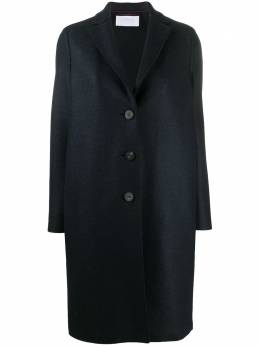 Harris Wharf London single-breasted felted-wool coat A1331MLKY