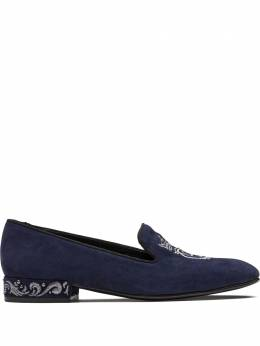 Church's Arielle crest embroidered loafers DS00429HV