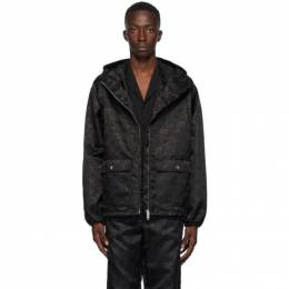 Gucci Black Nylon GG Jacket 631105 ZAEBN
