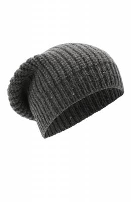 Кашемировая шапка Brunello Cucinelli M32373999P