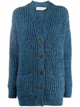 Coach chunky open-knit cardigan 4207