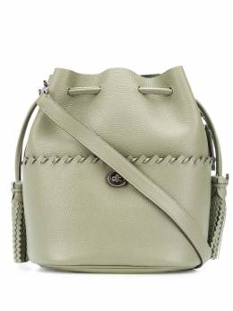 Coach Lora whipstitch-embellished bucket bag 651