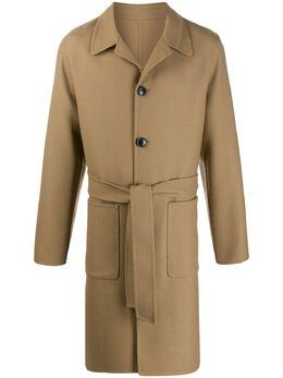 Ami пальто с поясом A20HM008241