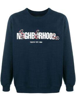 Neighborhood свитер Slub C-Crew 201FHNHCSM01
