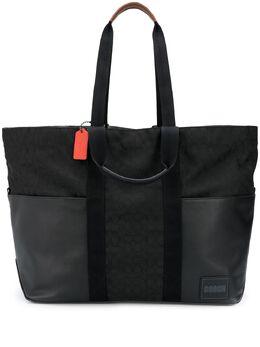 Coach сумка-шопер с логотипом 949