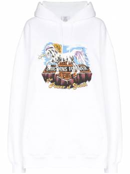 Vetements Magic unicorn-print hoodie UAH21TR635