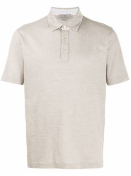 Canali рубашка поло с короткими рукавами T0568MJ00884