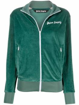 Palm Angels chenille track jacket PMBD001E20FAB0035901