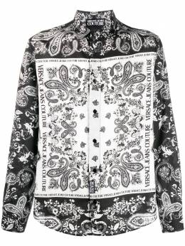 Versace Jeans Couture baroque print shirt B1GZA6R2S0859