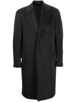 Canali однобортное пальто 5111070110
