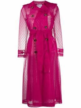 Red Valentino sheer trench coat UR3CHA84428