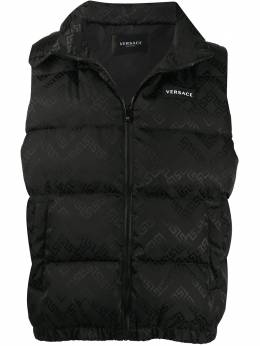 Versace sleeveless padded gilet A87347A226597